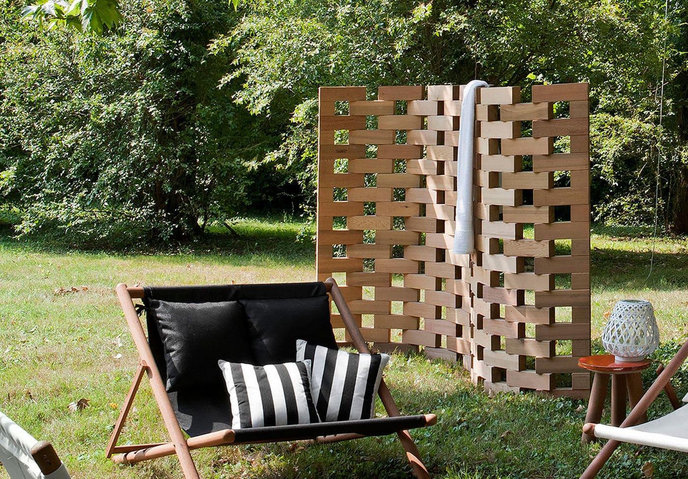 Full Size of Outdoor Paravent Moderner Zen Exteta Holz Garten Küche Kaufen Edelstahl Wohnzimmer Outdoor Paravent
