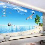 Wohnzimmer Wandbild 3d Fototapete Strand Schiff Tischlampe Poster Beleuchtung Anbauwand Led Teppiche Vorhänge Heizkörper Hängelampe Komplett Indirekte Wohnzimmer Wohnzimmer Wandbild