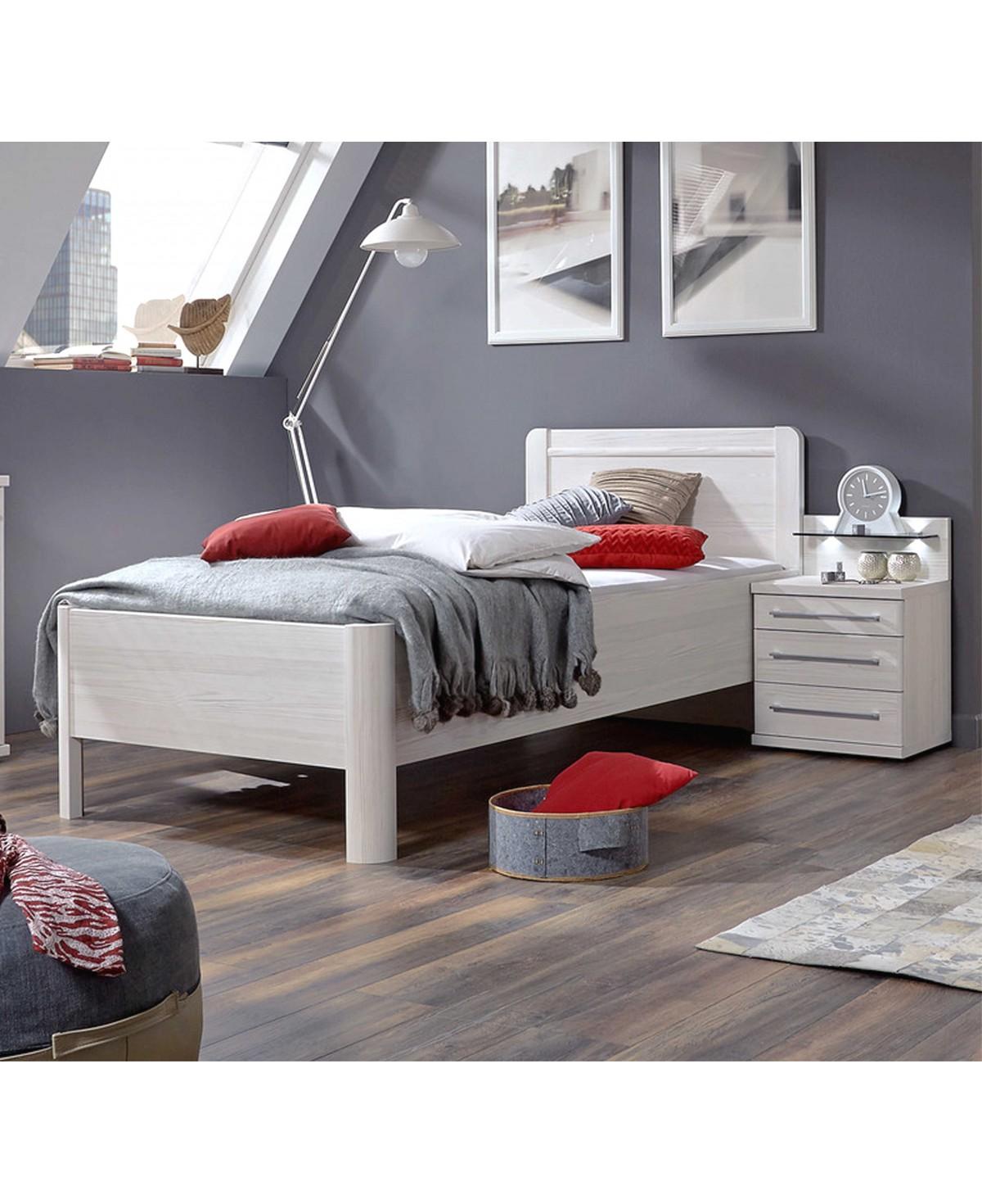 Full Size of Metallbett 100x200 Wiemann Komfortbett Seniorenbett Nachtschrank Led Mainau Bett Weiß Betten Wohnzimmer Metallbett 100x200