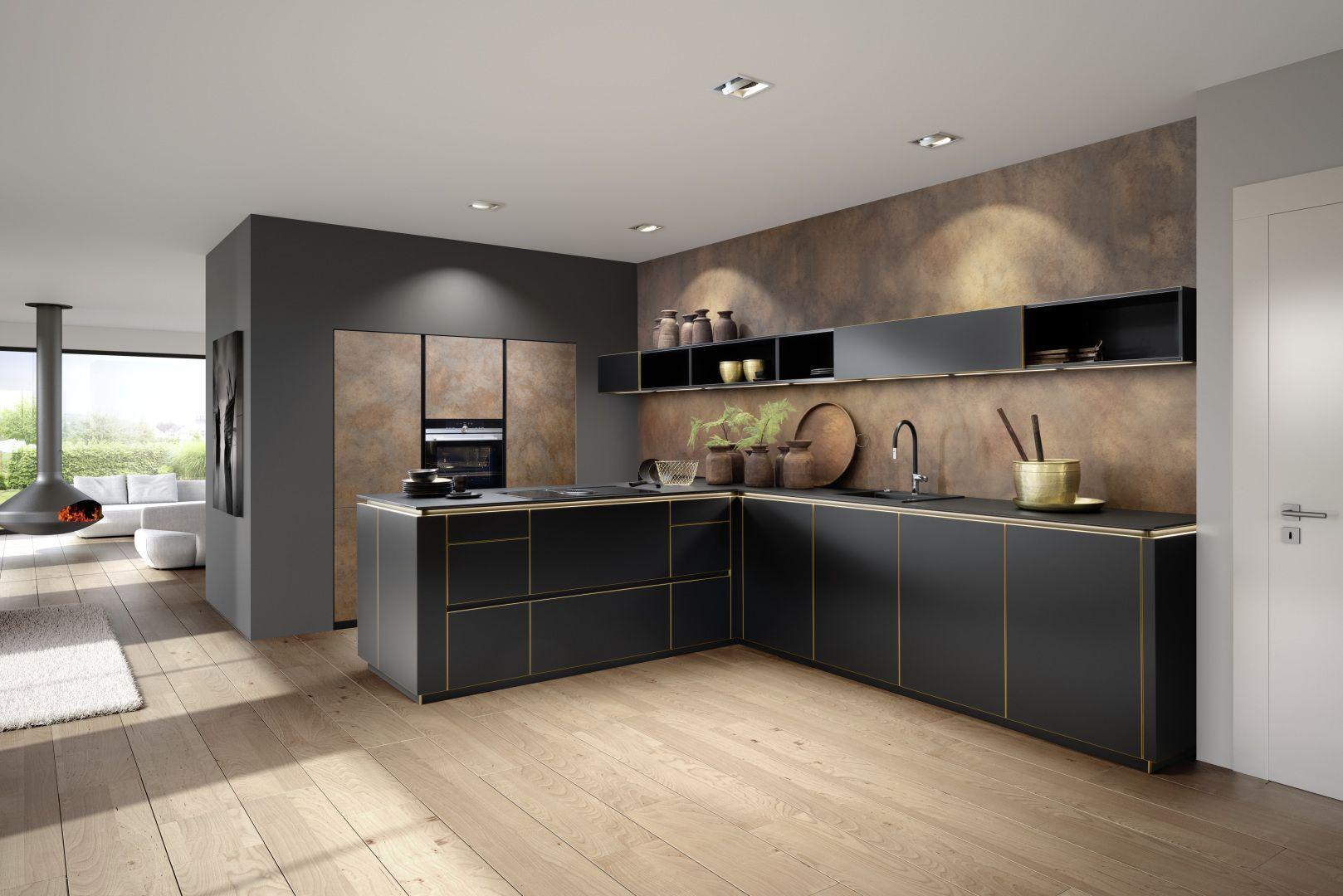 Full Size of Küchenblende Moderne Kchen Kche Wohnzimmer Küchenblende