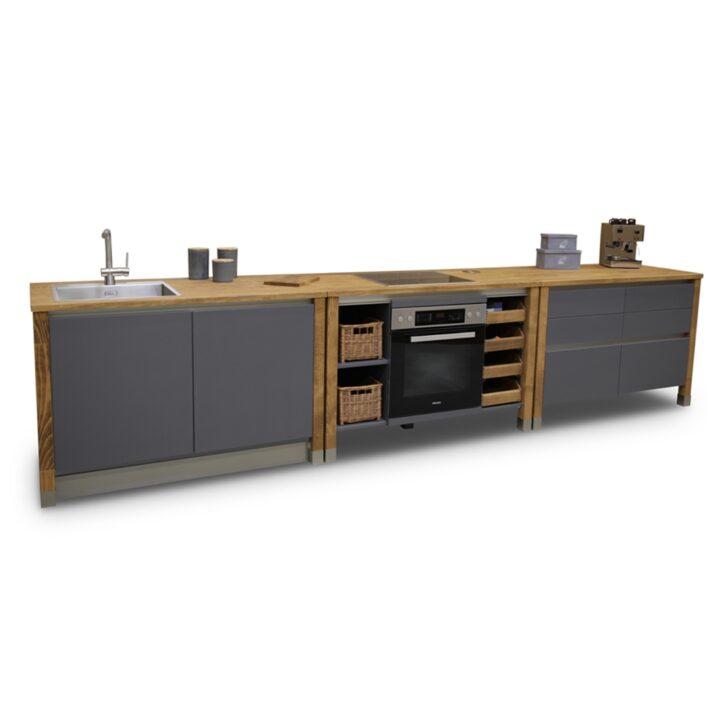 Medium Size of Modulkche Codortmund Edelstahl Kche Holz Ikea Küchen Regal Wohnzimmer Cocoon Küchen