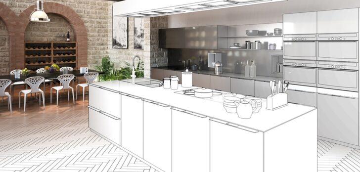 Medium Size of Freistehende Küchen Kfer Kchen Küche Regal Wohnzimmer Freistehende Küchen