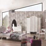 Mädchenbetten Kinderbett Mdchenbett In Wei Wohnzimmer Mädchenbetten