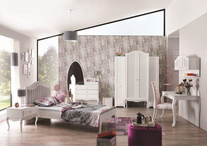 Medium Size of Mädchenbetten Kinderbett Mdchenbett In Wei Wohnzimmer Mädchenbetten