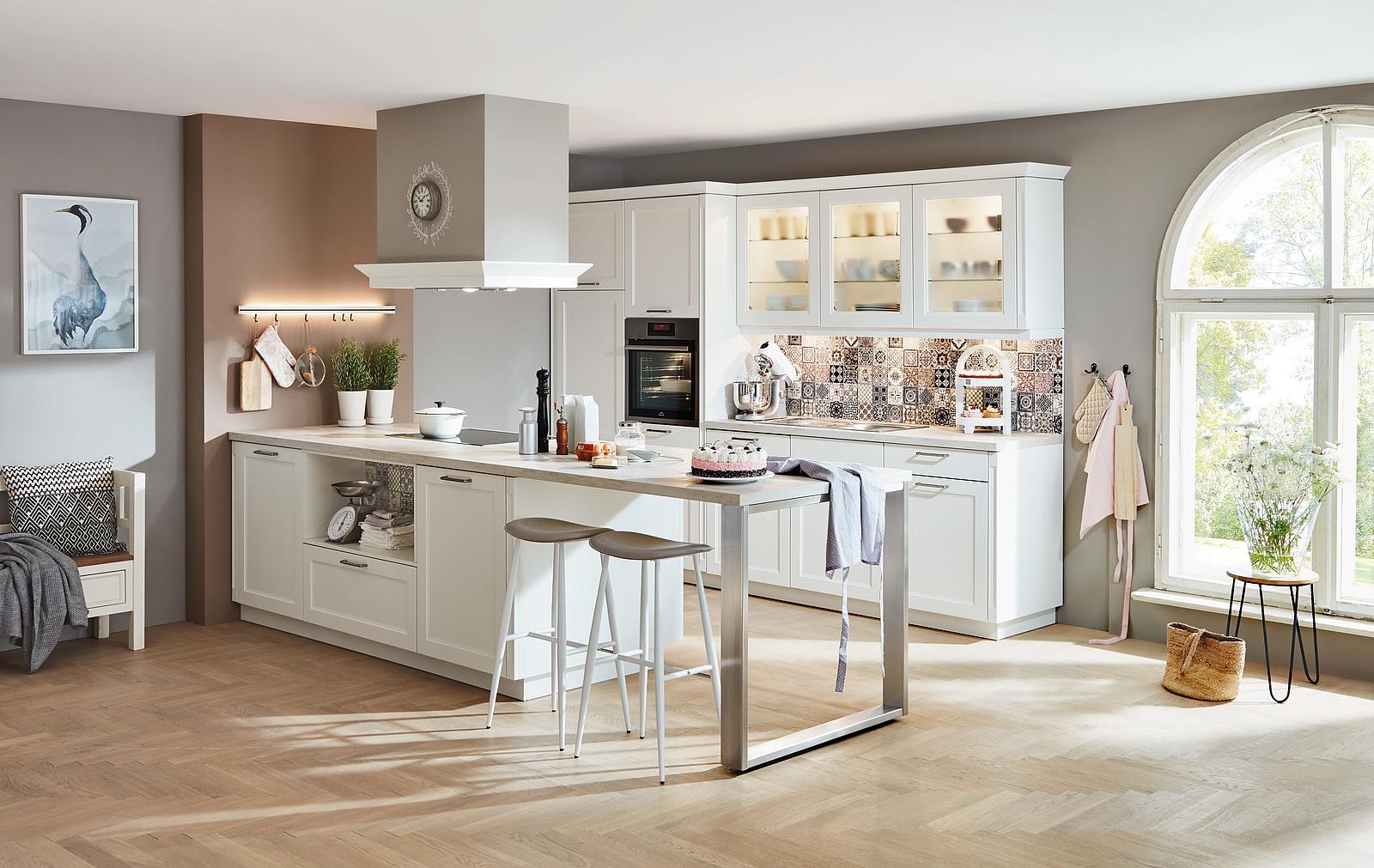 Full Size of Landhausküche Wandfarbe Kchentrends 2020 Matt Ist Der Neue Glanz Moderne Weisse Grau Weiß Gebraucht Wohnzimmer Landhausküche Wandfarbe