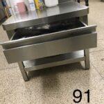 Küche Arbeitstisch Kche Gastro Edelstahl Regal Wandschrank Mehrere Wandverkleidung Kurzzeitmesser Mit Geräten Lüftung Kleiner Tisch Bodenbelag Pentryküche Wohnzimmer Küche Arbeitstisch