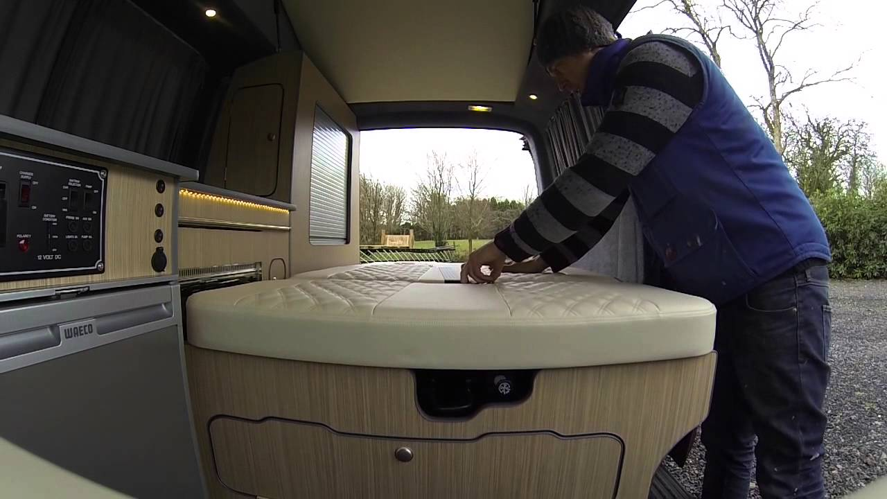 Full Size of Camping Premium Camper Rock N Roll Bett Ausziehbett Mit Wohnzimmer Ausziehbett Camper