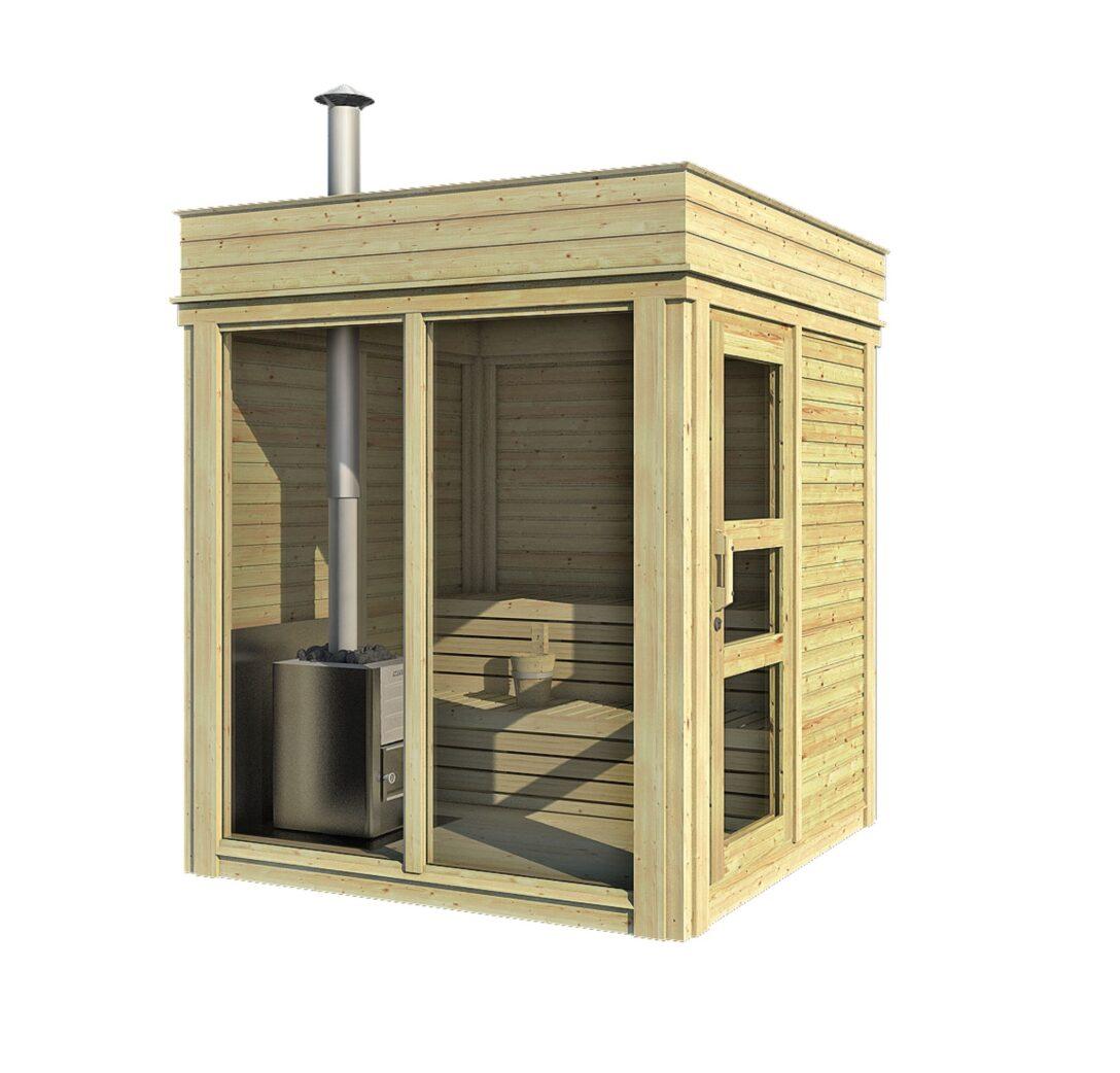Large Size of Gartensauna Bausatz Sauna Cube 2 M Wohnzimmer Gartensauna Bausatz