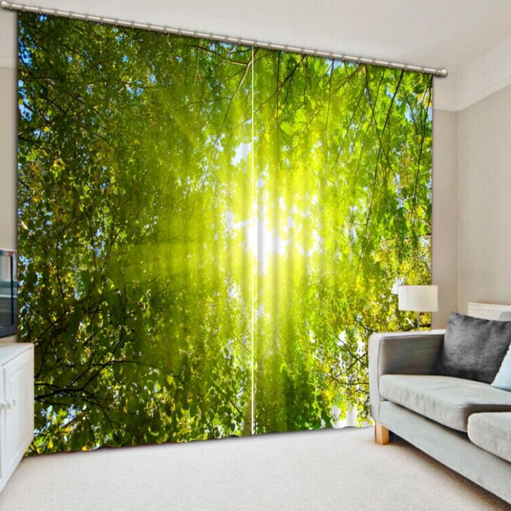 Medium Size of Vorhänge Koreanische Vorhnge Druck Fr Wohnzimmer Schlafzimmer Küche Wohnzimmer Vorhänge