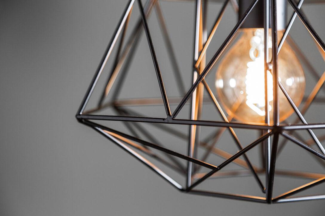 Large Size of Industrial Deckenleuchte Lampe Hngelampe H30cm Schwarz Design Wohnzimmer Led Esstisch Badezimmer Deckenleuchten Küche Bad Moderne Schlafzimmer Modern Wohnzimmer Industrial Deckenleuchte