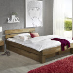 Futonbett 100x200 Bett Weiß Betten Wohnzimmer Futonbett 100x200
