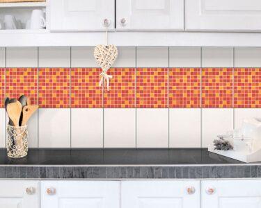 Selbstklebende Fliesen Wohnzimmer Fliesen Bordre Selbstklebende Mosaikfliesen Sonnenaufgang 25x20 Fliesenspiegel Küche Glas Selber Machen Bodenfliesen Bad Fürs Badezimmer Für Dusche