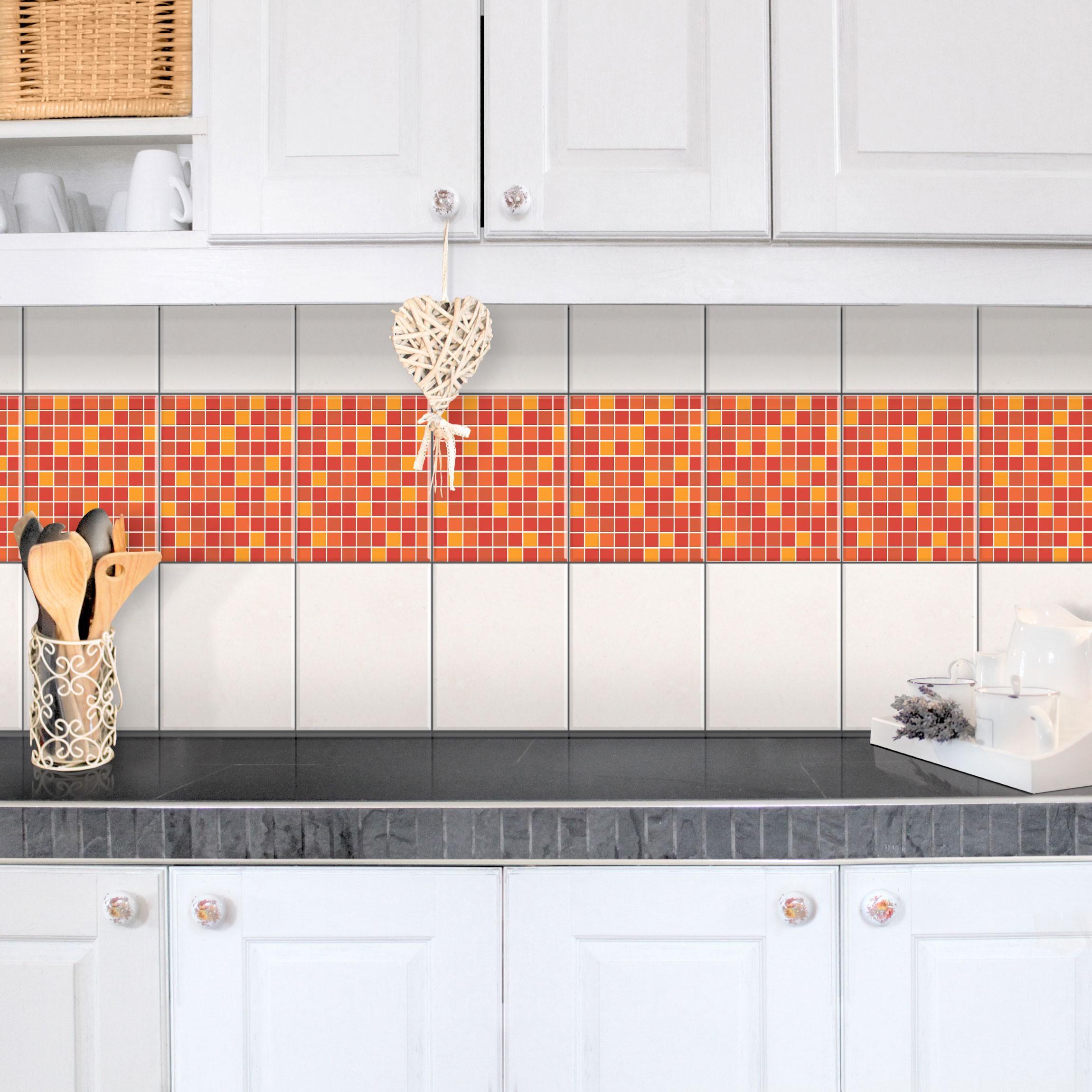 Full Size of Fliesen Bordre Selbstklebende Mosaikfliesen Sonnenaufgang 25x20 Fliesenspiegel Küche Glas Selber Machen Bodenfliesen Bad Fürs Badezimmer Für Dusche Wohnzimmer Selbstklebende Fliesen
