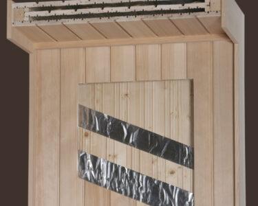 Außensauna Wandaufbau Wohnzimmer