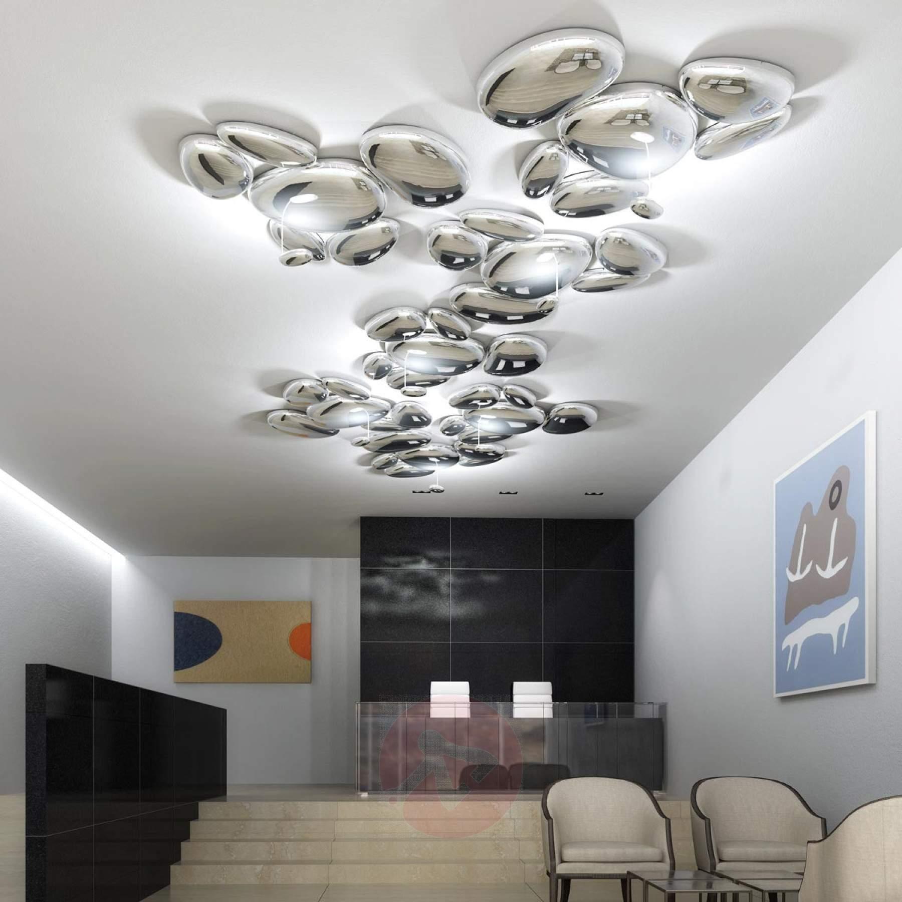 Full Size of Deckenleuchte Design Modern Led Designlive Deckenleuchten Wohnzimmer Stahl 110x25cm Schlafzimmer Live Deckenlampe 50x42cm Schiene Schwenkbar Designerleuchten Wohnzimmer Deckenleuchte Design