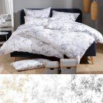 Bettwäsche 155x220 Mako Satin Bettwsche Toile De Jouy Marie Lorena Sprüche Wohnzimmer Bettwäsche 155x220