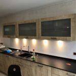 Küchen Fliesenspiegel Regal Küche Glas Selber Machen Wohnzimmer Küchen Fliesenspiegel