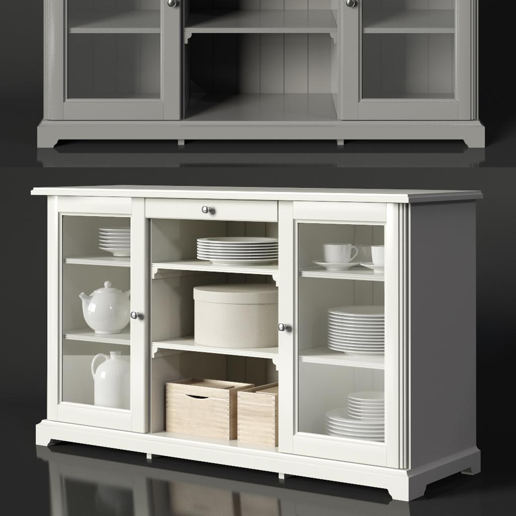 Full Size of Ikea Liatorp Sideboard 3d Modell Turbosquid 1539742 Modulküche Betten 160x200 Miniküche Anrichte Küche Kosten Bei Sofa Mit Schlaffunktion Kaufen Wohnzimmer Anrichte Ikea