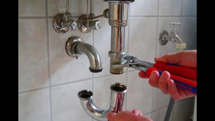 Medium Size of Waschbecken Abfluss Verstopft Hilfee Anleitung Youtube Bauhaus Fenster Spüle Küche Wohnzimmer Stöpsel Spüle Bauhaus