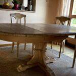 Küche Massivholz Gebraucht Tisch Und Sthle Neu Tolle Esstisch Oval Elegant Zusammenstellen Einlegeböden Beistellregal Poco Chesterfield Sofa Niederdruck Wohnzimmer Küche Massivholz Gebraucht