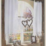 Landhaus Gardinen Küche Kuche Landhausstil Gardinenkchebaumwolle Laminat In Der Stehhilfe Kaufen Mit Elektrogeräten Niederdruck Armatur Hängeregal Wohnzimmer Landhaus Gardinen Küche