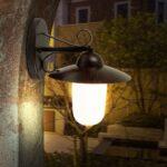 Küchenlampe Landhausstil Wohnzimmer Küchenlampe Landhausstil Led 9 Watt Auen Lampe Landhaus Stil Wand Beleuchtung Energie Spar Wohnzimmer Esstisch Schlafzimmer Regal Weiß Sofa Bad Küche Betten