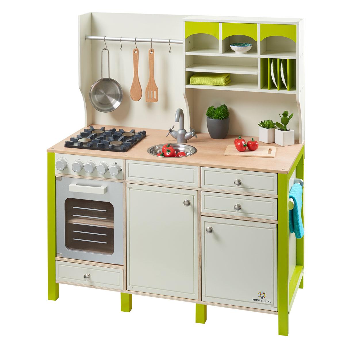 Full Size of Musterkind Spielkche Salvia Grn Aus Holz 101 Pirum Kinder Spielküche Wohnzimmer Spielküche
