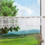 Scheibengardine Industrial Scheibengardinen Fensterdekoration Mit Bistrogardinen Im Esstisch Küche Wohnzimmer Scheibengardine Industrial