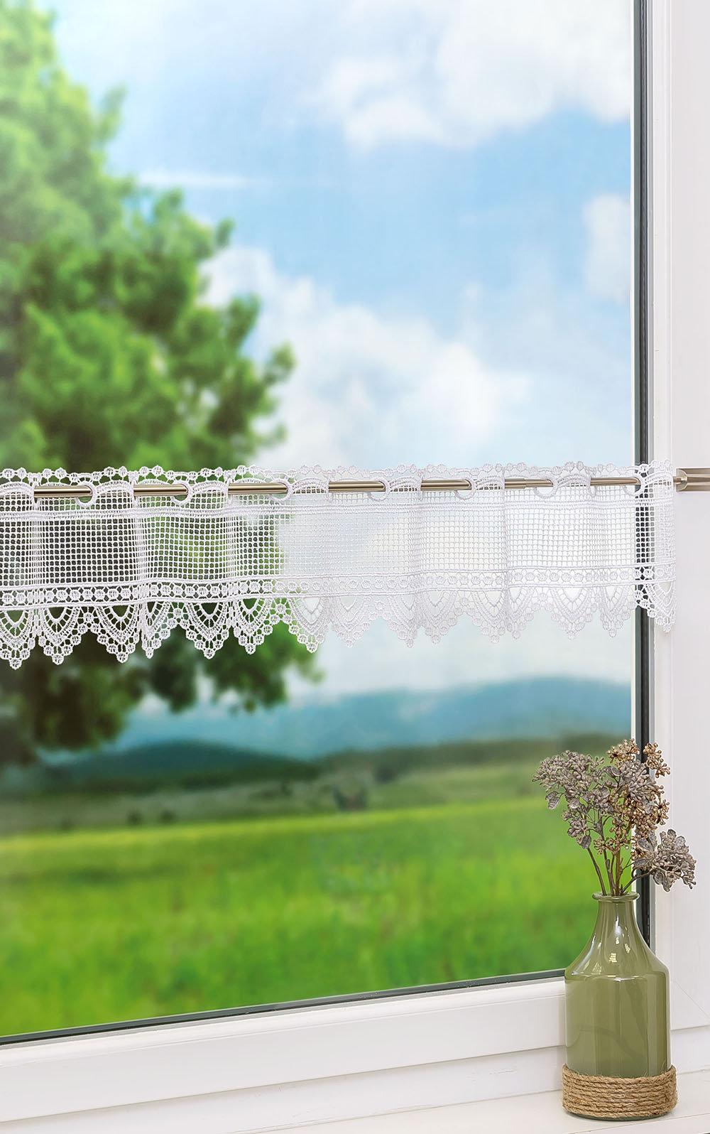 Full Size of Scheibengardine Industrial Scheibengardinen Fensterdekoration Mit Bistrogardinen Im Esstisch Küche Wohnzimmer Scheibengardine Industrial