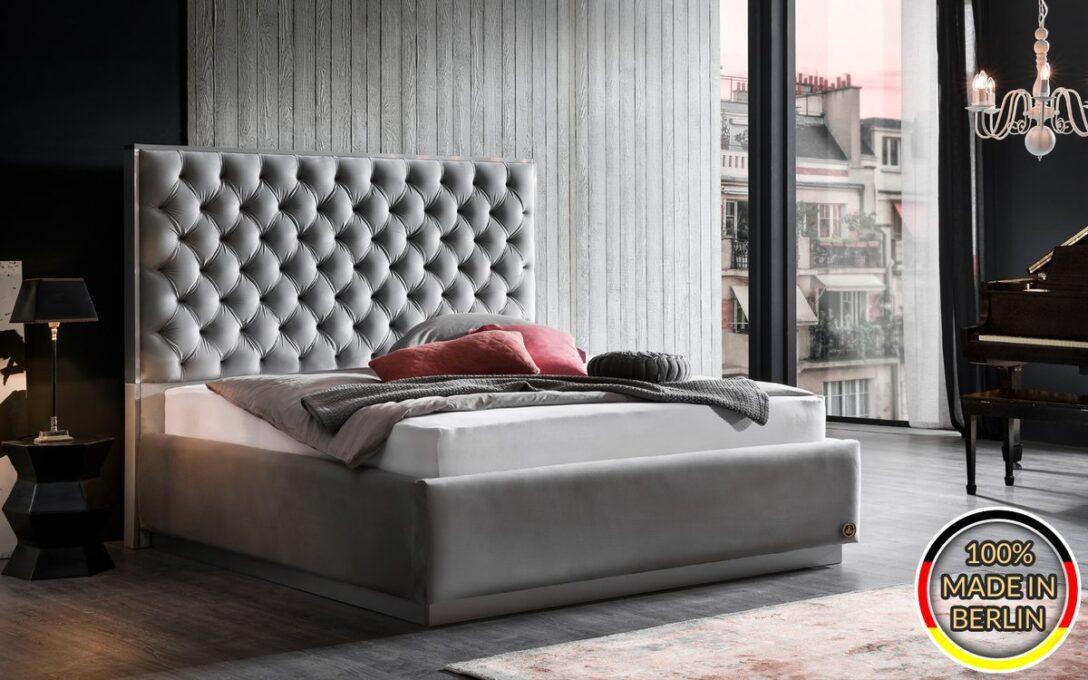 Large Size of Polsterbett Valencia Mit Kopfteil Rahmen Sockel Xxl Bett 200x220 Betten Wohnzimmer Polsterbett 200x220