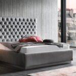 Polsterbett Valencia Mit Kopfteil Rahmen Sockel Xxl Bett 200x220 Betten Wohnzimmer Polsterbett 200x220