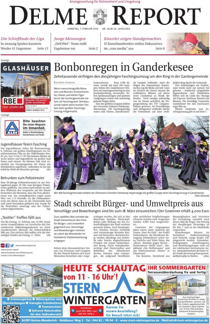 Medium Size of Delme Report Vom 07022016 By Kps Verlagsgesellschaft Mbh Relaxsessel Garten Aldi Wohnzimmer Küchenläufer Aldi