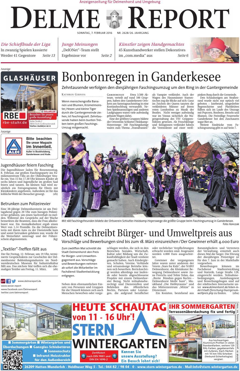 Full Size of Delme Report Vom 07022016 By Kps Verlagsgesellschaft Mbh Relaxsessel Garten Aldi Wohnzimmer Küchenläufer Aldi