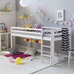 Amazonde Homestyle4u 1433 Hochbett Wei Kinderbett 90x200 Mit Coole T Shirt Sprüche Betten T Shirt Wohnzimmer Coole Kinderbetten