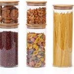 Küchen Aufbewahrungsbehälter Wohnzimmer Küchen Aufbewahrungsbehälter Ezoware 5er Set Glas Vorratsdosen Küche Regal