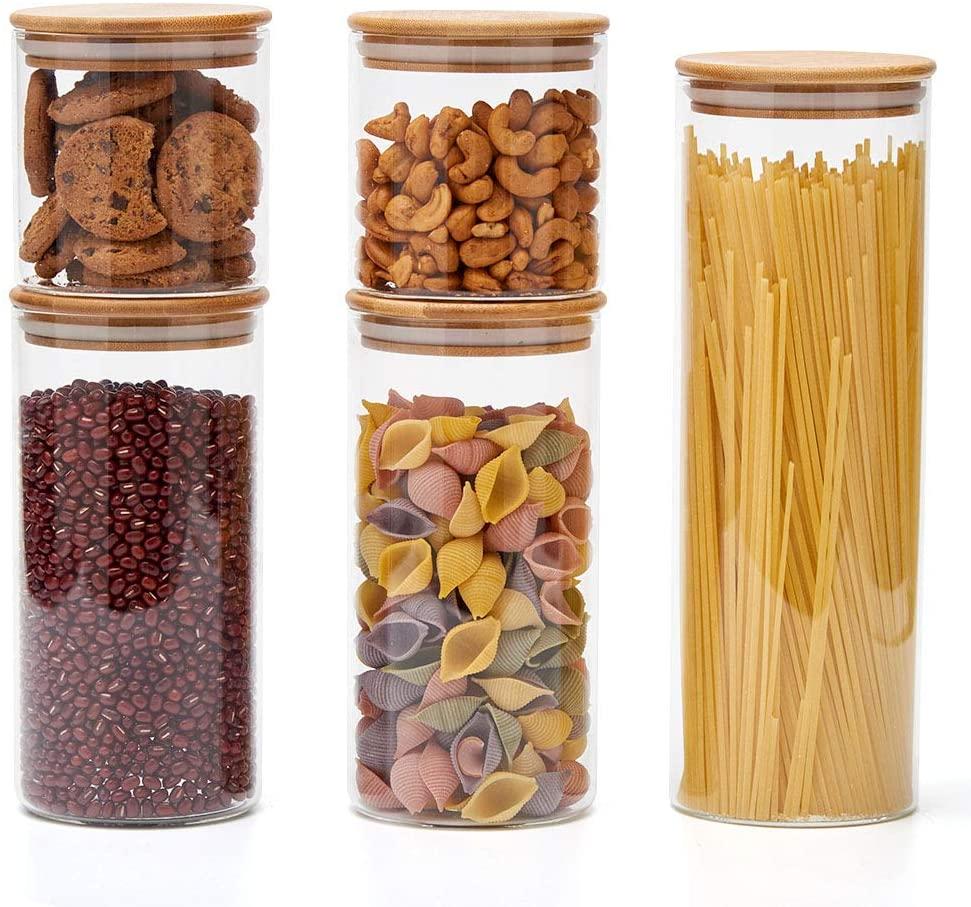 Full Size of Küchen Aufbewahrungsbehälter Ezoware 5er Set Glas Vorratsdosen Küche Regal Wohnzimmer Küchen Aufbewahrungsbehälter