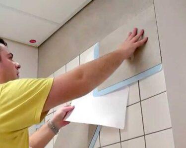 Fliesen Verkleiden Wohnzimmer Fliesen Verkleiden Kein Streichen Mehr Youtube Badezimmer In Holzoptik Bad Bodenfliesen Holzfliesen Kosten Fürs Für Dusche Küche Bodengleiche Wandfliesen