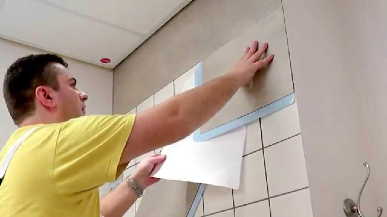 Full Size of Fliesen Verkleiden Kein Streichen Mehr Youtube Badezimmer In Holzoptik Bad Bodenfliesen Holzfliesen Kosten Fürs Für Dusche Küche Bodengleiche Wandfliesen Wohnzimmer Fliesen Verkleiden