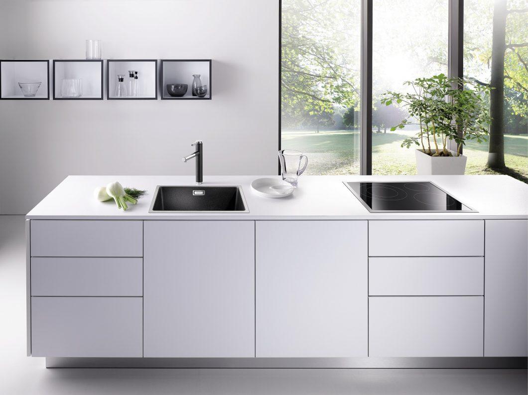 Full Size of Spülstein Keramik Blanco Silgranit Hart Wie Granit Waschbecken Küche Wohnzimmer Spülstein Keramik