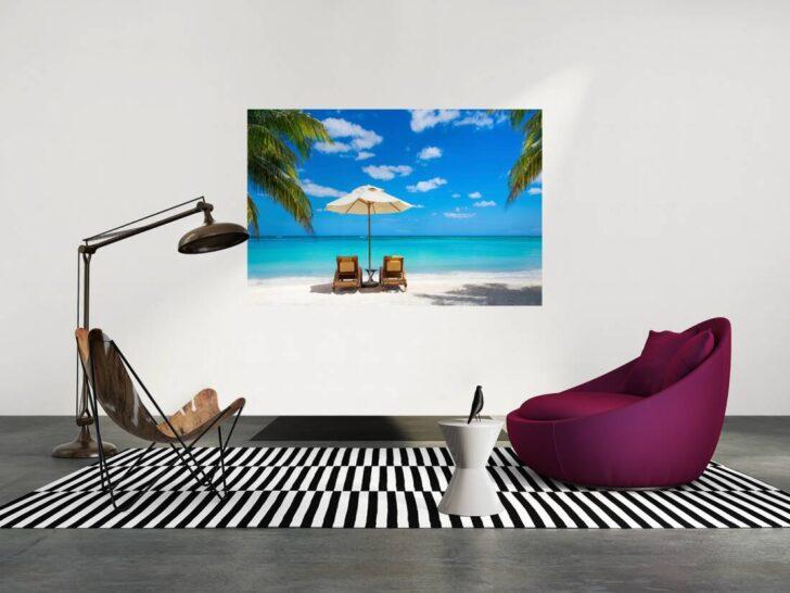 Medium Size of Livingwalls Fototapete Liegen Am Strand M 470689 Liege Wohnzimmer Fliegengitter Für Fenster Deckenlampen Modern Dekoration Stehlampe Wandtattoo Wandtattoos Wohnzimmer Liegen Wohnzimmer