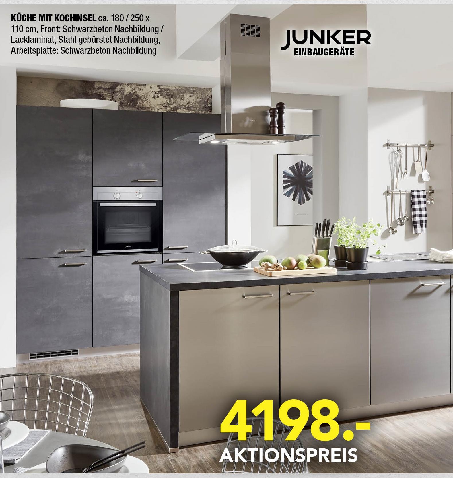 Full Size of Professionel Preiswert Einbaukchen Gerte Küchen Regal Wohnzimmer Real Küchen