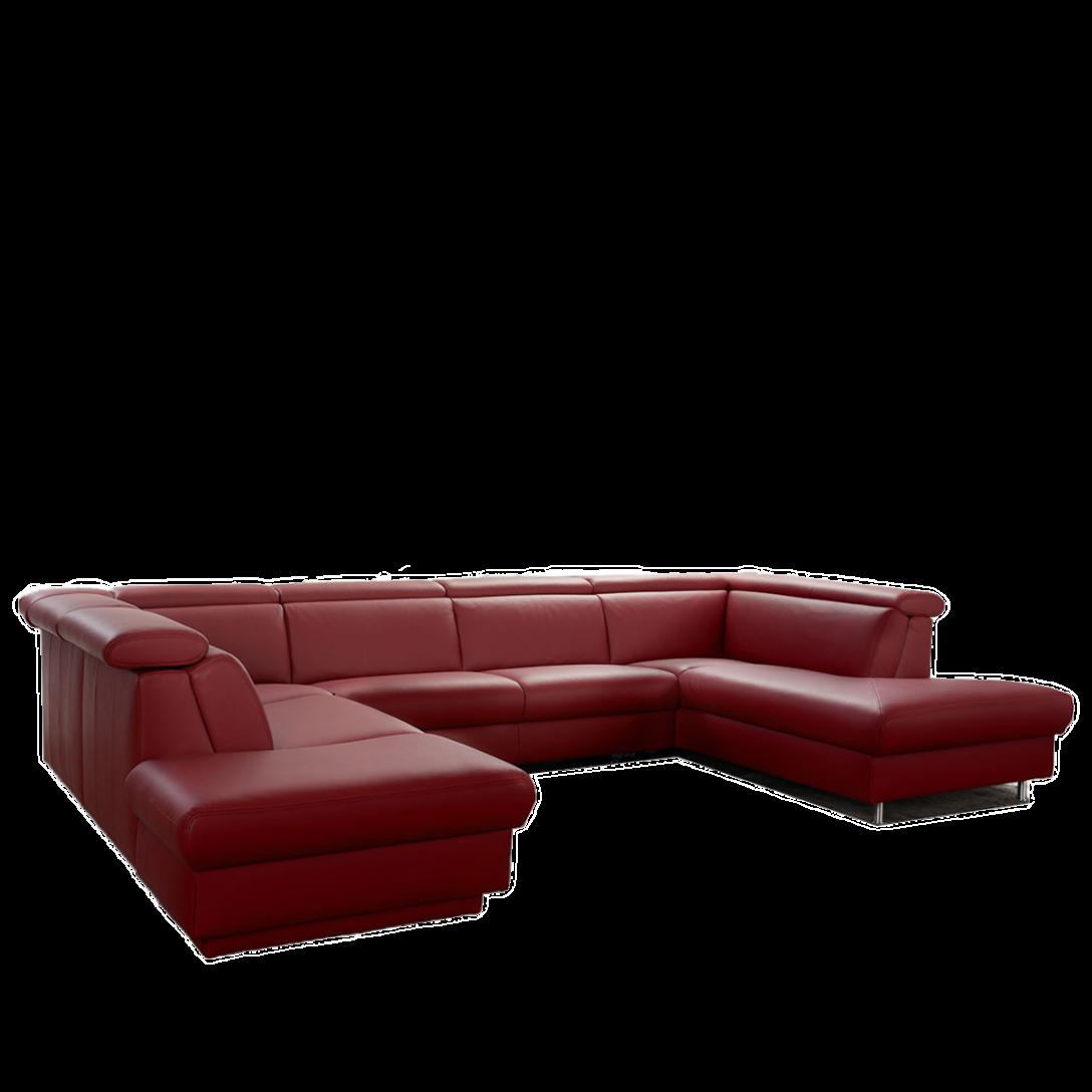 Large Size of Großes Ecksofa Groes Sofa 9701 In U Form Aus Dem Hause Himolla Bild Wohnzimmer Bezug Bett Regal Garten Mit Ottomane Wohnzimmer Großes Ecksofa