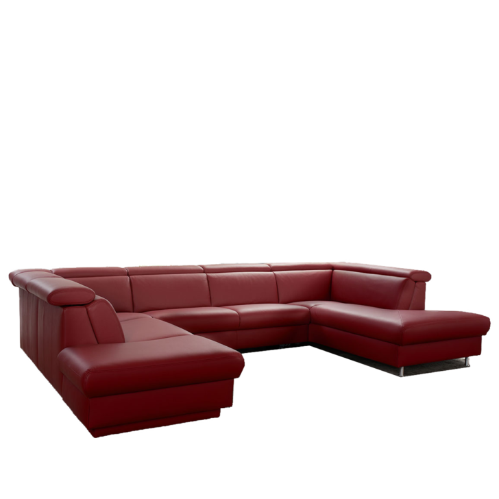 Medium Size of Großes Ecksofa Groes Sofa 9701 In U Form Aus Dem Hause Himolla Bild Wohnzimmer Bezug Bett Regal Garten Mit Ottomane Wohnzimmer Großes Ecksofa