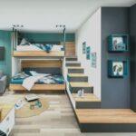 Wandgestaltung Kinderzimmer Jungen 33 Luxus Jugendzimmer Junge Mit Bildern Regal Weiß Regale Sofa Wohnzimmer Wandgestaltung Kinderzimmer Jungen