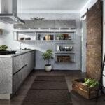 Kche Mit Persnlichkeit Im Inspirierenden Industrielook Granitplatten Küche Fliesenspiegel Einbauküche Elektrogeräten Wasserhahn Für Holzbrett Raffrollo Wohnzimmer Küche Industrial Style