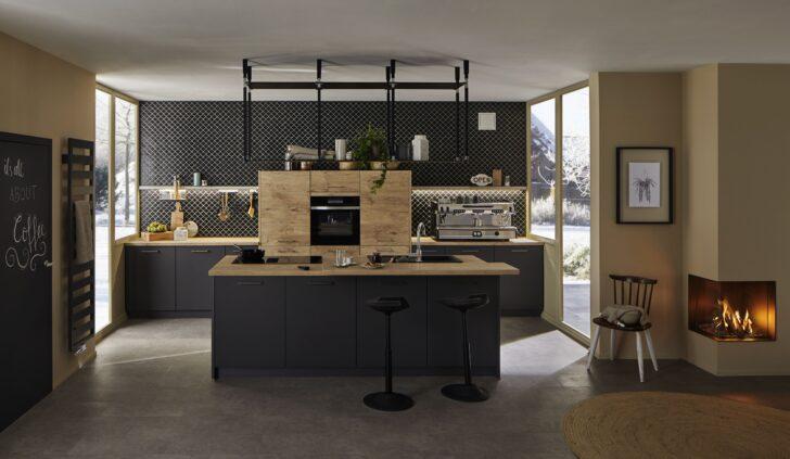 Medium Size of Modern Kitchen Kitchendesign Kche Modernkitchendesign Hängeregal Küche Wohnzimmer Hängeregal Kücheninsel