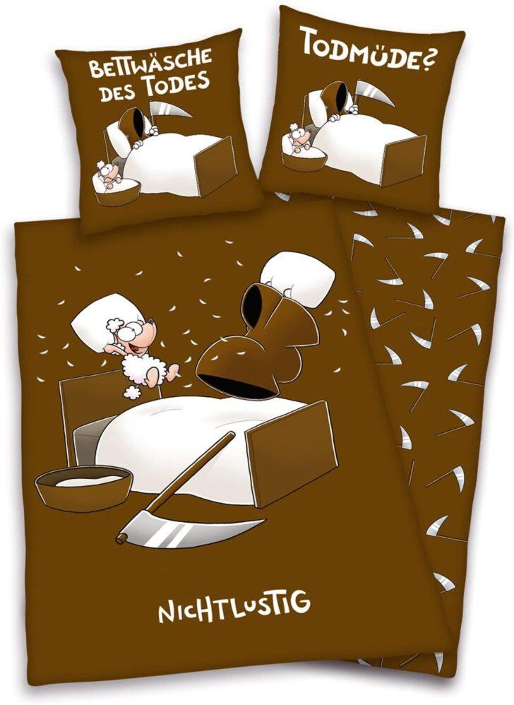 Medium Size of Nicht Lustig Bettwsche Braun 34 80x80 Cm 135x200 Amazon T Shirt Lustige Sprüche Bettwäsche T Shirt Wohnzimmer Bettwäsche Lustig
