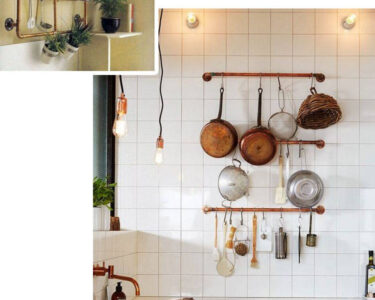 Regal Küche Selber Bauen Wohnzimmer 30 Absolut Geniale Interior Ideen Aus Kupferrohren Zum Nachmachen Beistellregal Küche Möbelgriffe Jalousieschrank Bett Selber Zusammenstellen Pool Im Garten