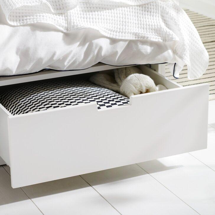 Medium Size of Ikea Bett 140x200 Mit Schubladen Nordli Bettgestell Wei Deutschland Nussbaum Bette Badewannen Betten 160x200 2m X Liegehöhe 60 Cm überlänge Massiv Wohnzimmer Ikea Bett 140x200 Mit Schubladen