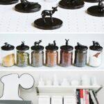 Ikea Aufbewahrung Küche Meine Diy Vorratsglser Und Gewrz In Der Neuen Einlegeböden Mobile Hochschrank Schmales Regal Wellmann Hängeschränke Wasserhahn Für Wohnzimmer Ikea Aufbewahrung Küche